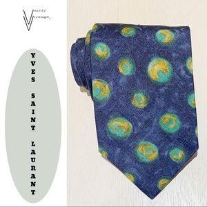 Yves Saint Laurent Silk Necktie
